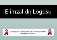 e-imzalıdır logosu