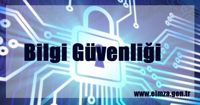 Bilgi güvenliği gizlilik, erişim ve bütün olarak özetlersek kişilerin bilgi güvenliğine özen göstermesi gerekmektedir.